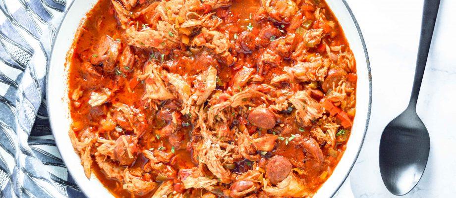 Cajun Chicken, Sausage & Peppers