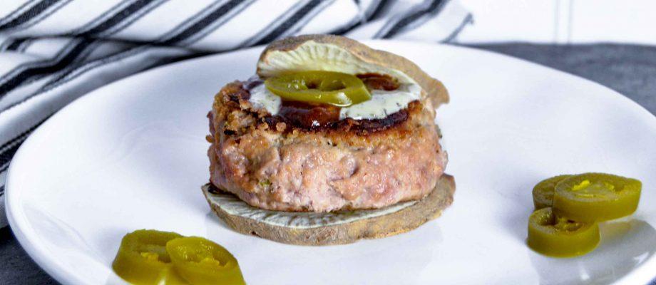 Jalapeno Bacon Turkey Burgers