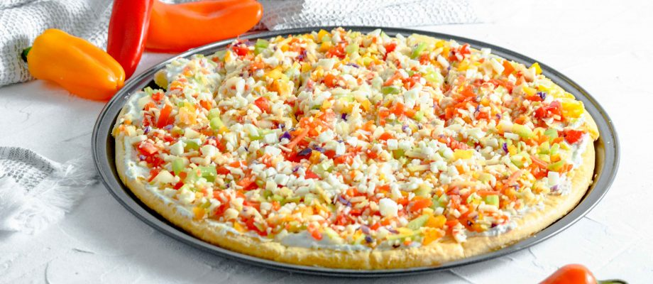 Veggie Pizza – Gluten Free