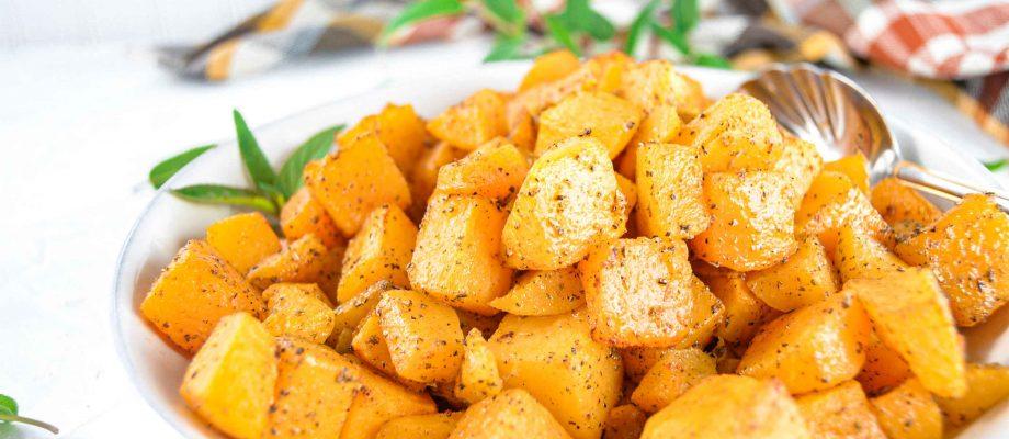 Sage and Garlic Butternut Squash